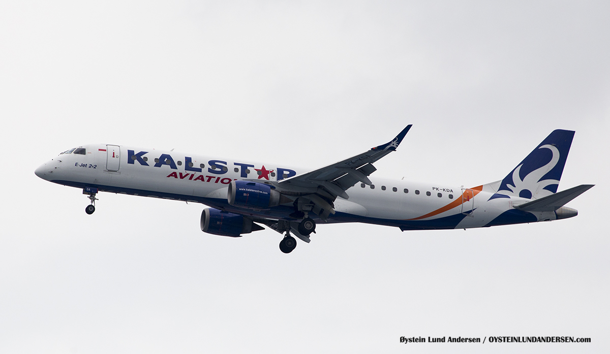 Jakarta Indonesia Kalstar Aviation - Embraer 195 (PK-KDA)
