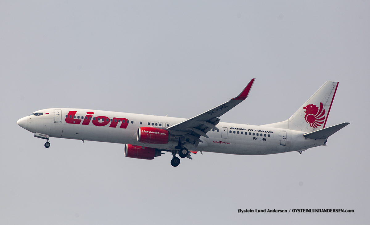 Lion Air (PK-LHH) Boeing 737-900ER
