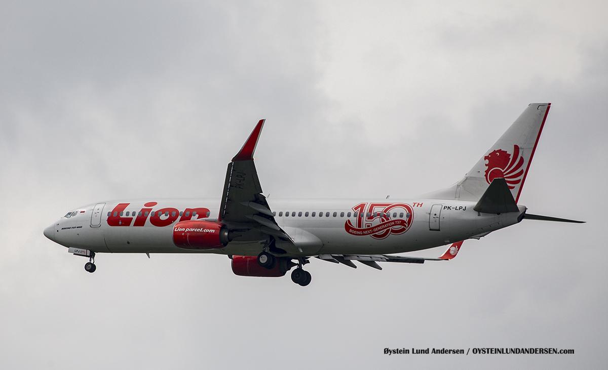 Jakarta Indonesia Lionair - Boeing 737-800 (PK-LPJ)
