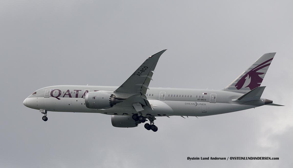 Jakarta Indonesia Qatar Airways - Boeing 787-800 (A7-BCO)