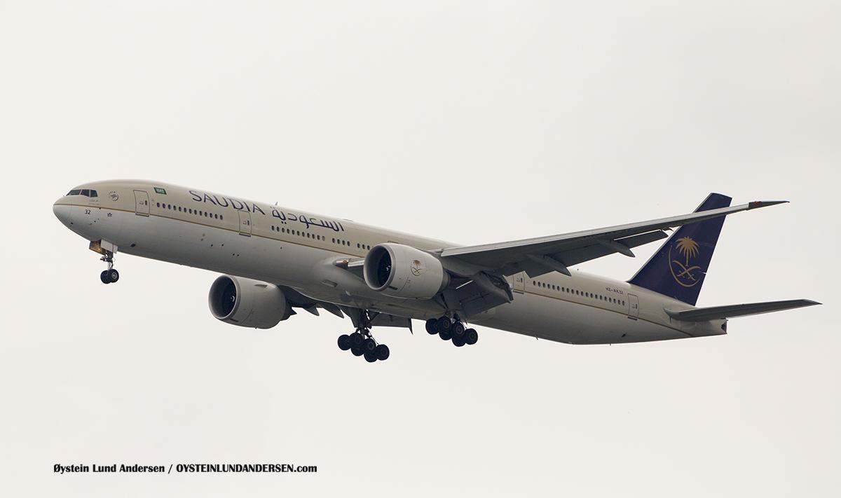 Jakarta Indonesia Saudia - Boeing 777-300ER (HZ-AK32)