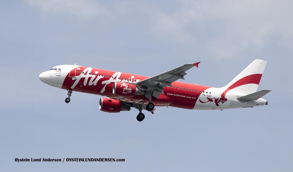 Soekarno-Hatta Air Asia A320
