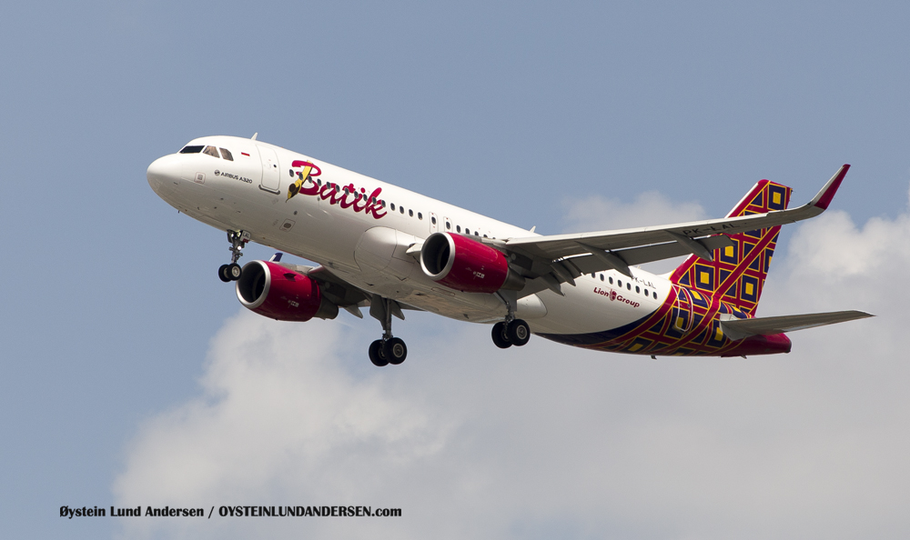 Batik Air Airbus 320