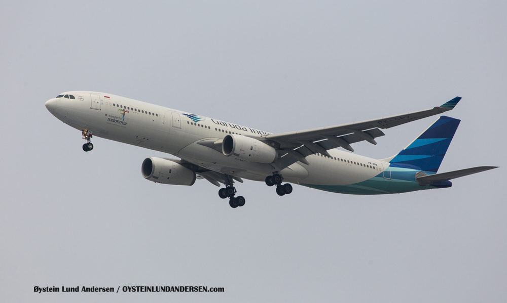 Garuda Airbus 330-300 (6 December 2015)