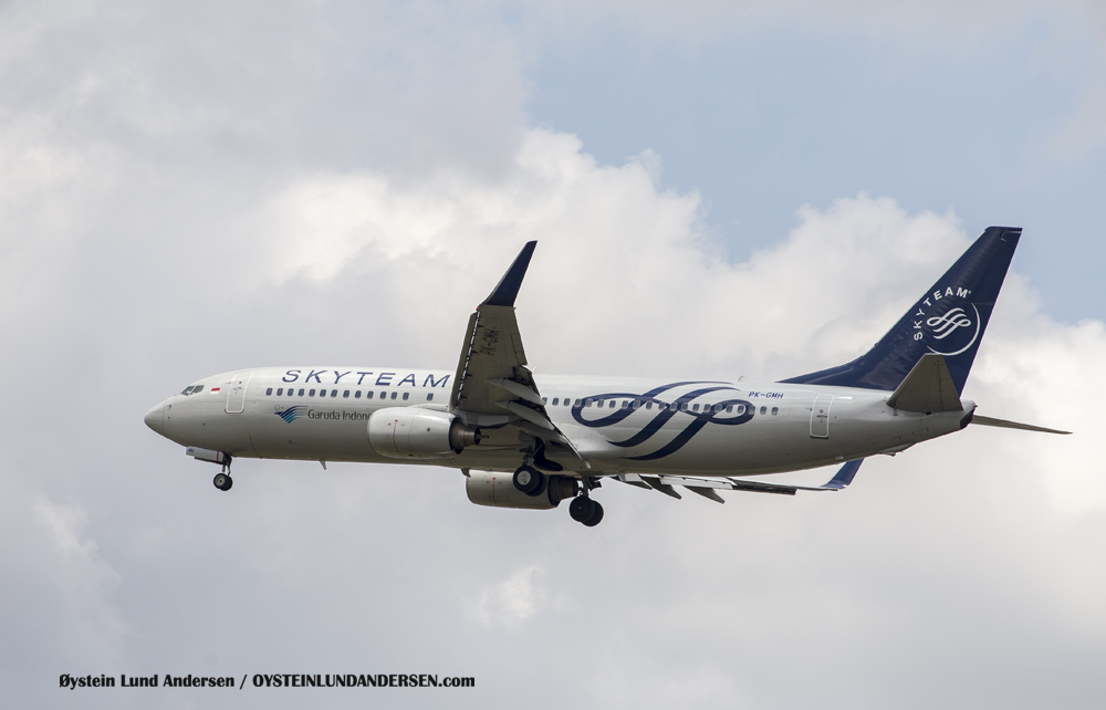 Boeing 737-800 Skyteam Livery (23 December 2015)