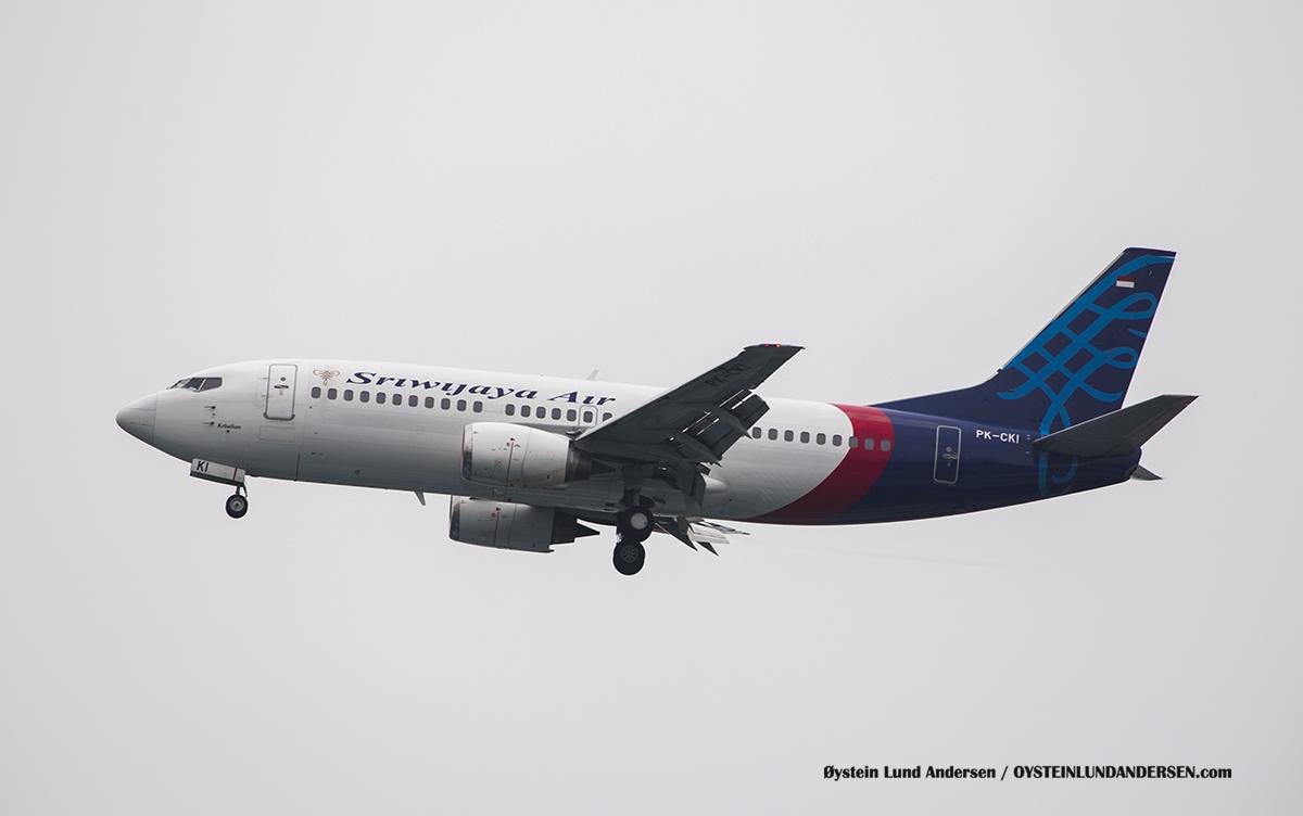 Jakarta Indonesia Sriwijaya - Boeing 737-300 (PK-CKI, named Kebaikan (english: Goodness)