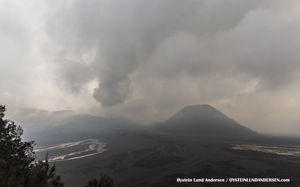 lahar Bromo Eruption 2016 Indonesia ash lava