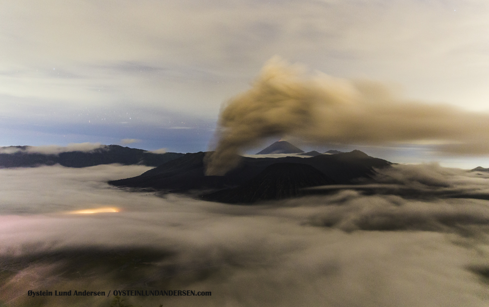 Bromo Eruption February 2016 volcano Indonesia