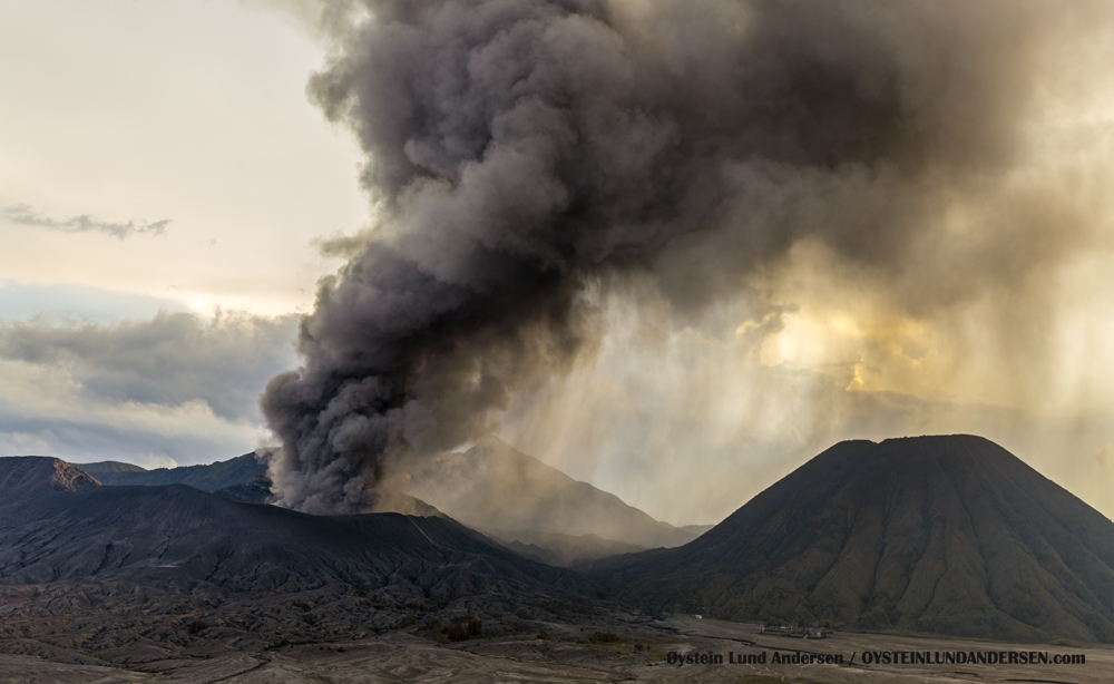 Bromo Tengger Indonesia Eruption February 2016