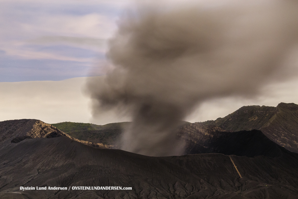 Bromo Volcano Eruption 2016 February 2016 Indonesia