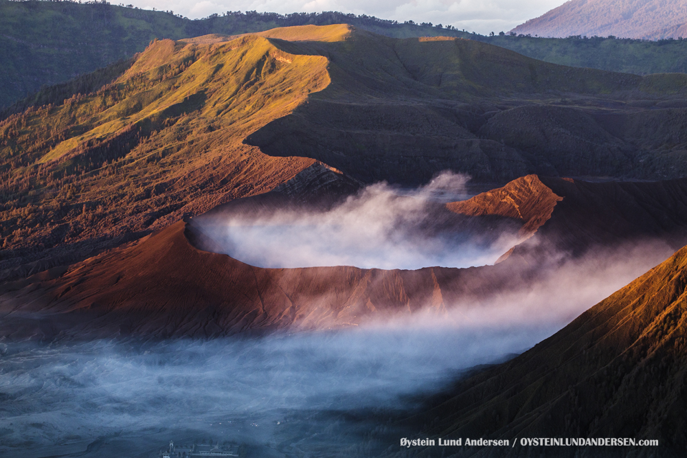 Bromo Eruption 2016 Tengger Indonesia Eruption Volcano June 2016