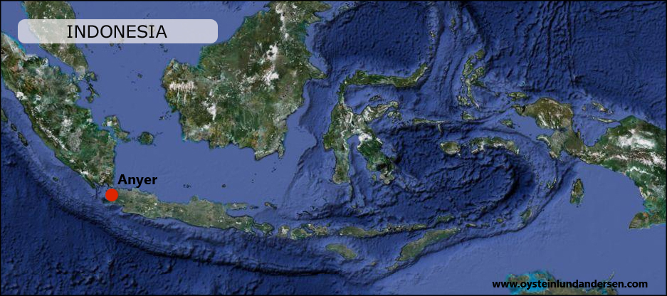 Map Peta Kart West Java Anyer Anjer Anyar