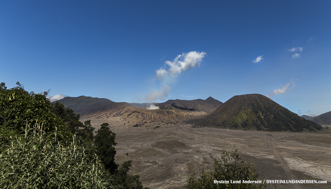Bromo Tengger Java Indonesia july 2016 Volcano Geology Oystein Andersen