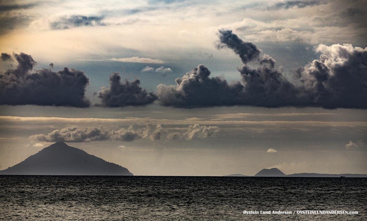 Krakatau Rakata Krakatoa 2016 Sunda Strait Java Sumatra Indonesia