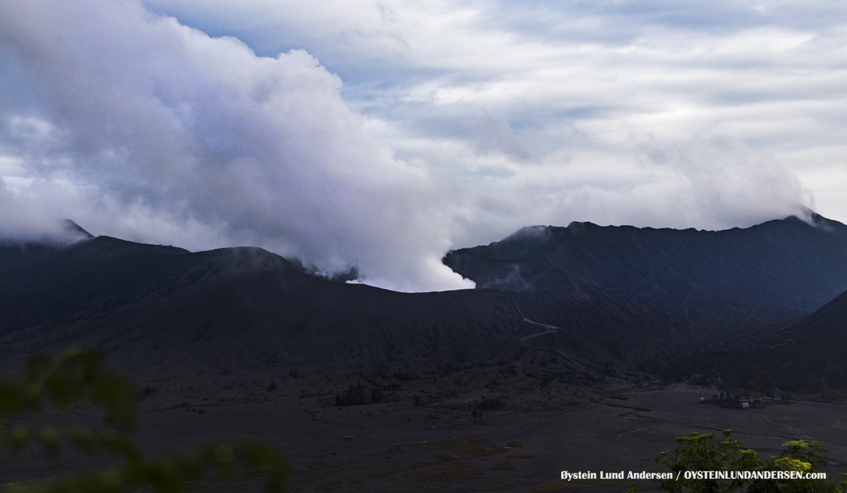 Bromo Tengger Volcano Indonesia Eruption September-2016