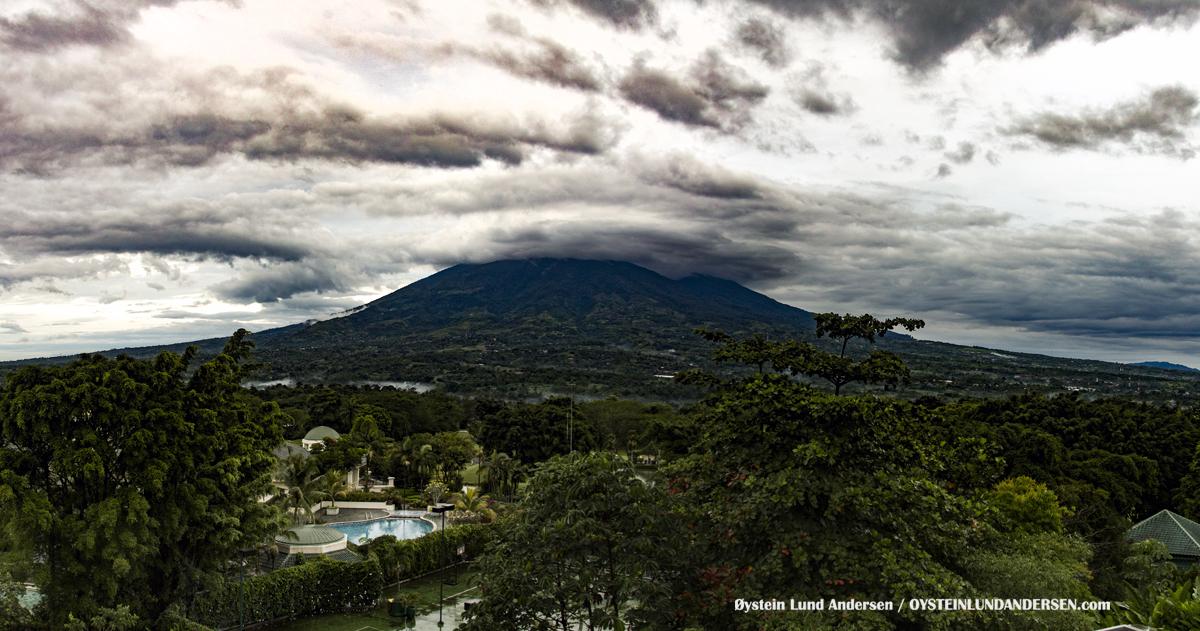 Salak Volcano Gunung Mountain Bogor R rancamaya