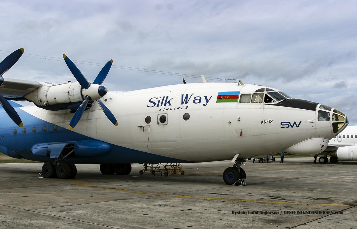 4K-AZ23 Antonov-12 sentani airport jayapura djj spotting 2010