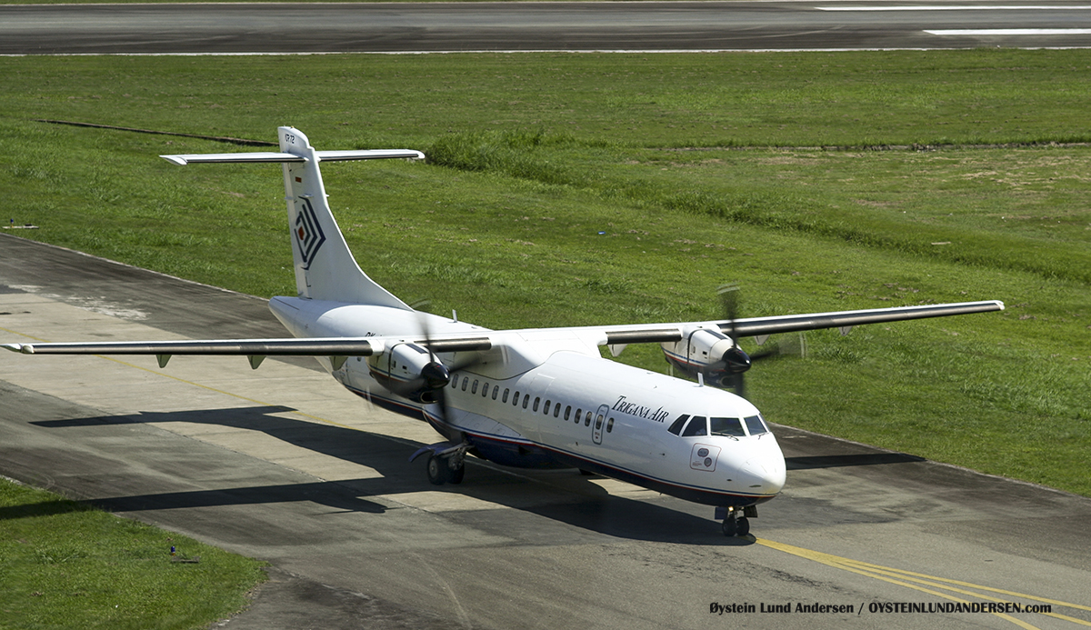 Trigana ATR-72 (August 2007) sentani airport jayapura djj spotting