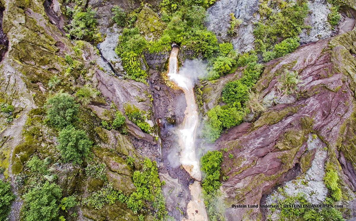 Kelud Volcano Indonesia 2016 Aerial DJi Crater Lake Danau