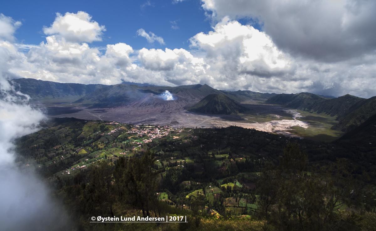 Dji Aerial Bromo Volcano Indonesia Java Tengger 2017