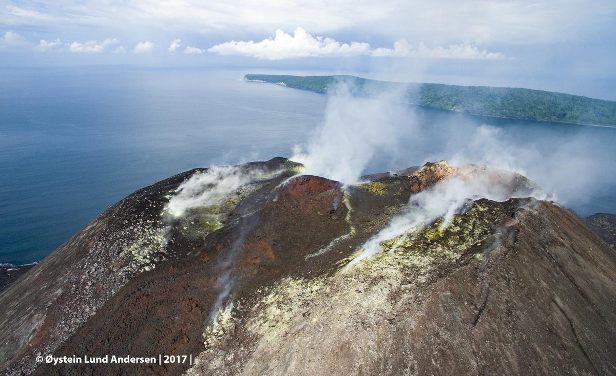 2017 Krakatau lava dome volcano andersen