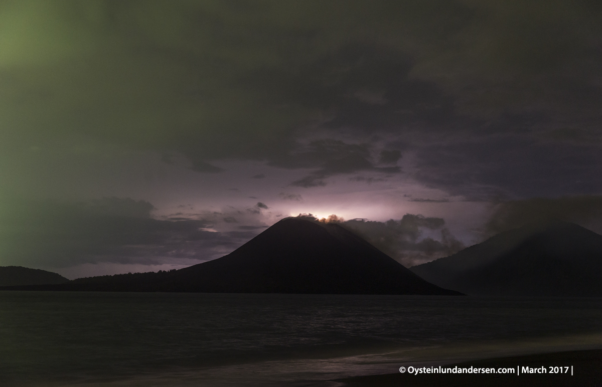 2017 march Krakatau Anak Krakatau Indonesia Volcano Andersen