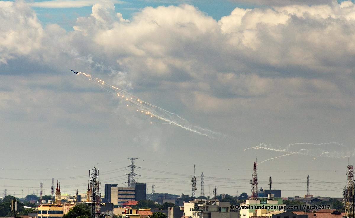 Jakarta TNI TNIAU Halim Sukhoi 27/30 F16
