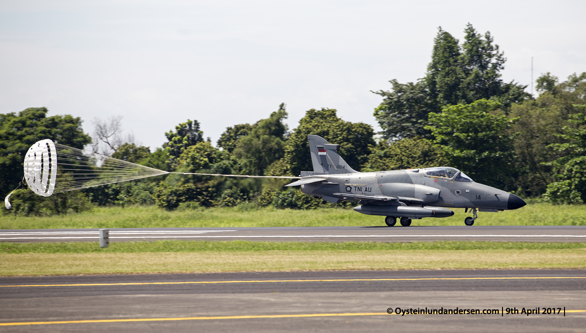 Indonesian Airforce TNI 2017 Halim Hawk MK-209