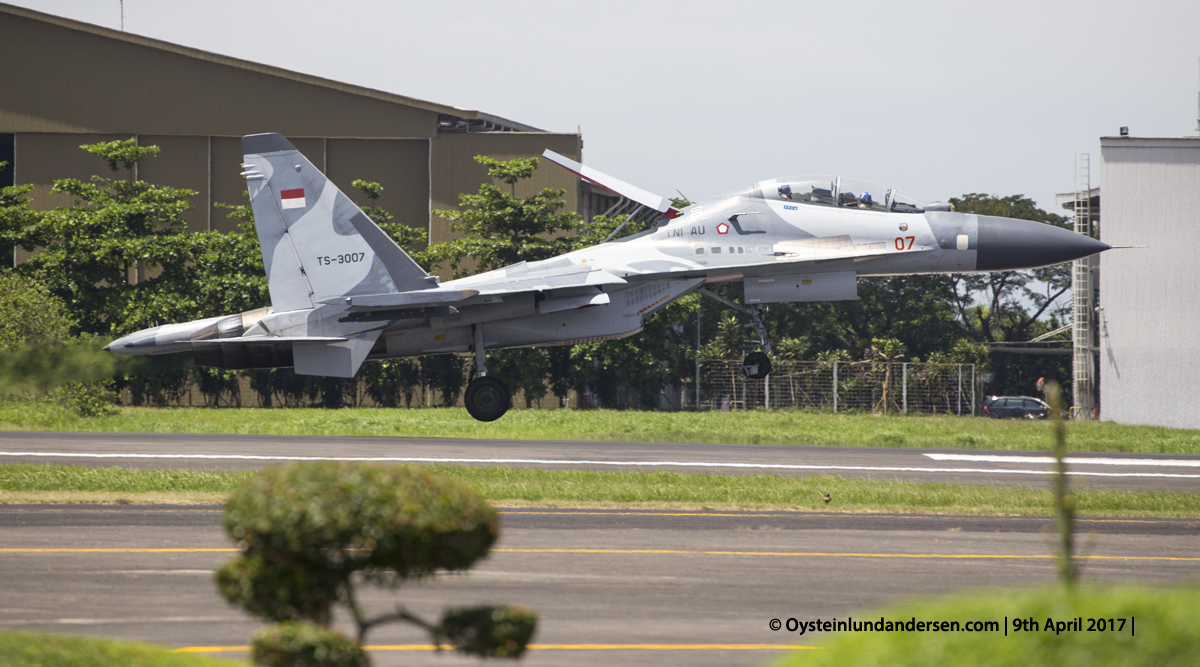 Indonesian Airforce TNI 2017 Halim Sukhoi 30