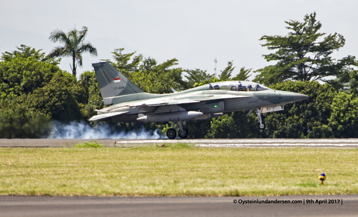 Indonesian Airforce TNI 2017 Halim T-50