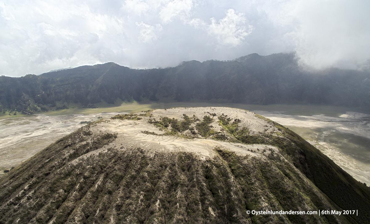Batok volcano dji aerial 2017