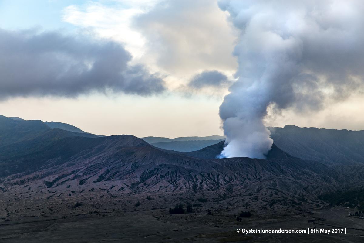 2017 Bromo volcano Indonesia