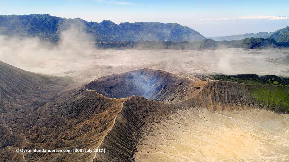 Bromo Indonesia Volcano July August 2017 DJI Aerial