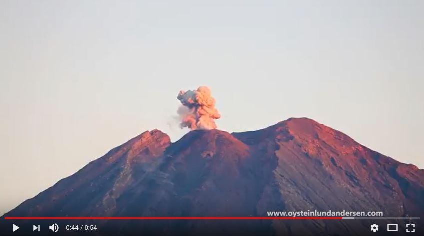 semeru eruption video 2017 film