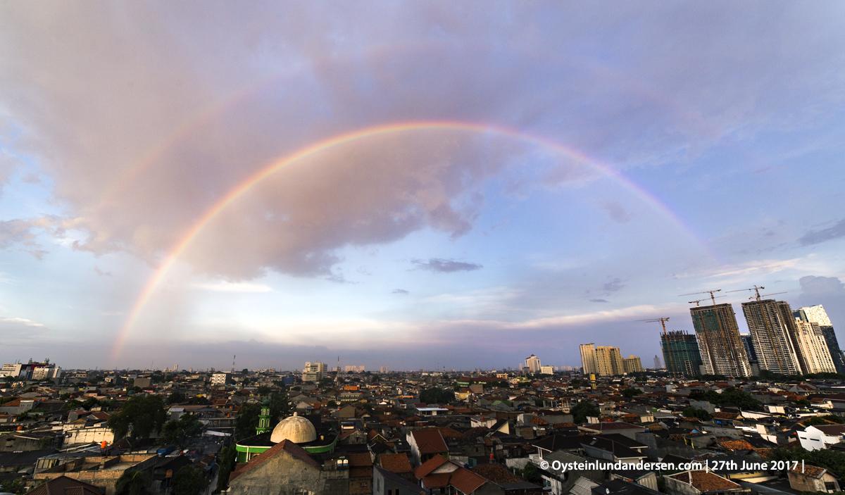 Rainbow Jakarta Indonesia 2017