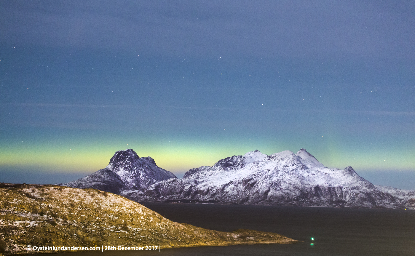 Bodø, North-Norway Aurora Borealis, northern-light, December, 2017, panorama, nature