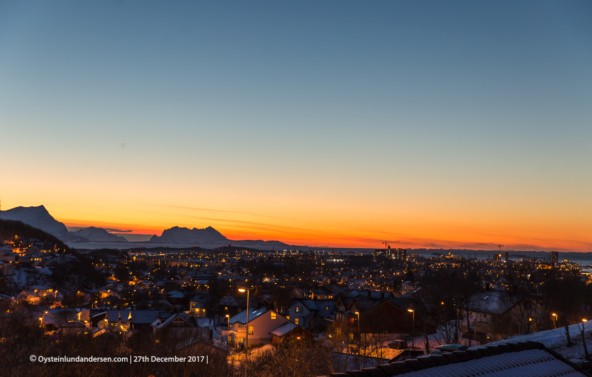 Bodø, North-Norway December, 2017, panorama, nature