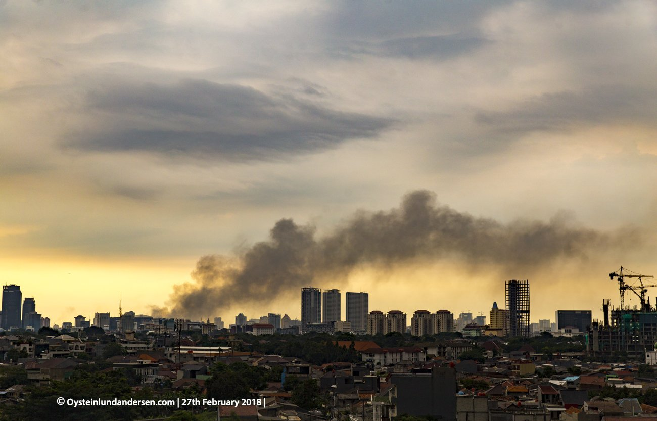 fire kebakaran Pasar Baru Jakarta 27th February 2018