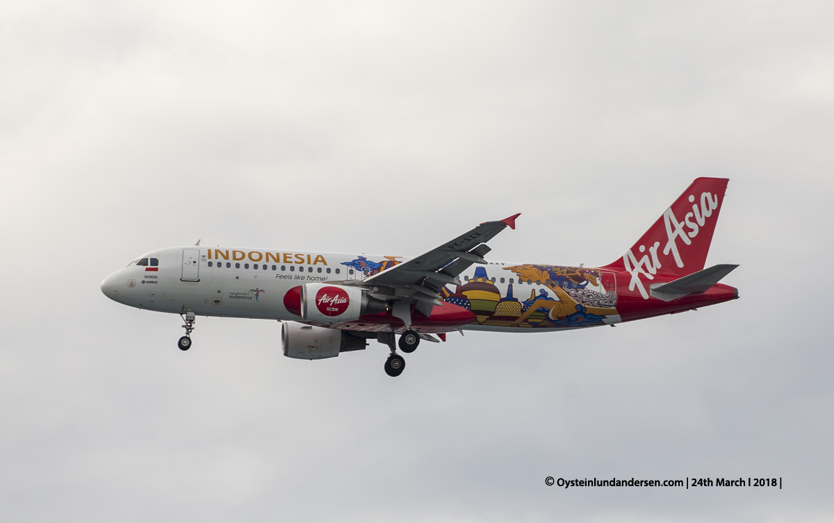 Airbus 320-200 PK-AXV Jakarta airport CGK