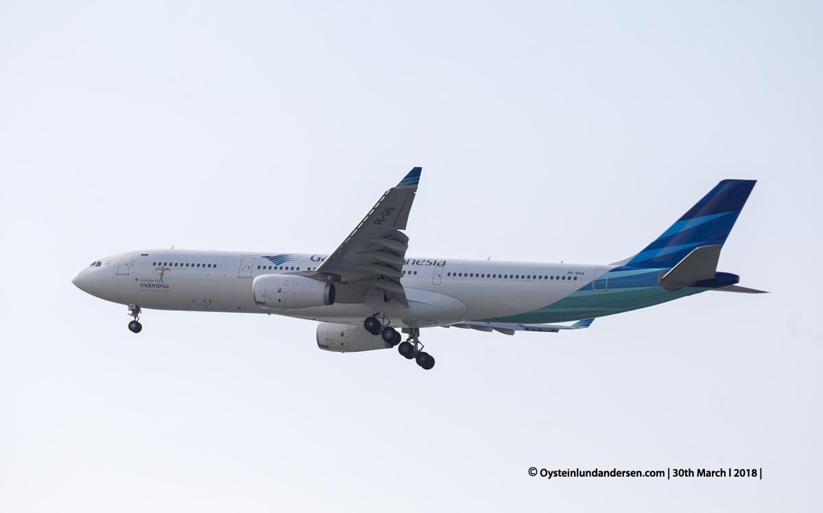 jakarta cgk Garuda Airbus 330-300 PK-GHA