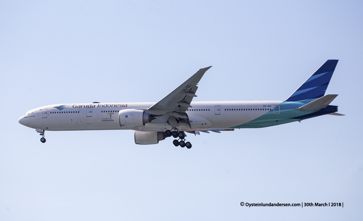 jakarta cgk Garuda Boeing 777-300ER PK-GIC
