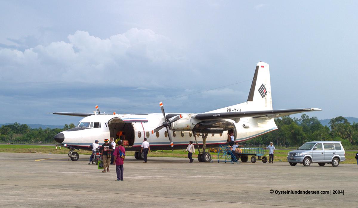 PK-YRA PK-YRA Fokker-27 Jayapura Sentani Papua avgeek