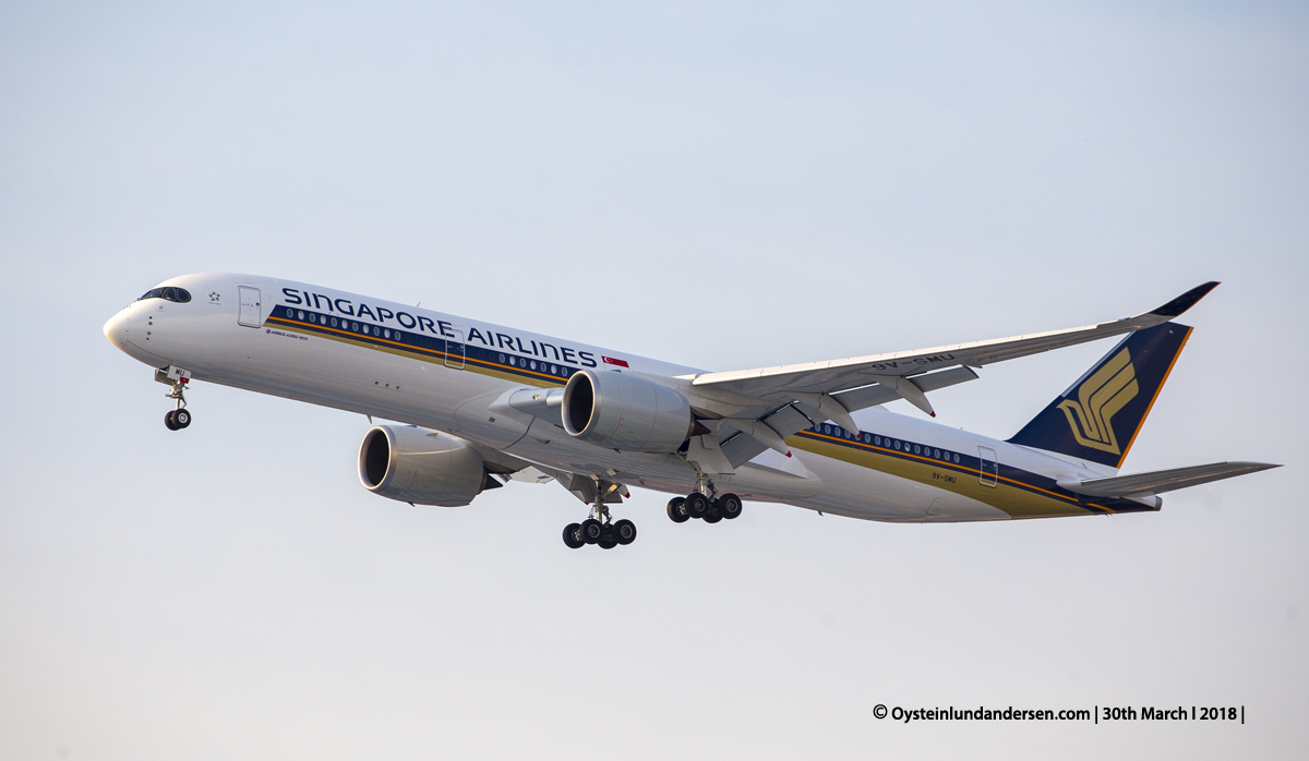 jakarta cgk Singapore Airlines Airbus 350-900 9V-SMU
