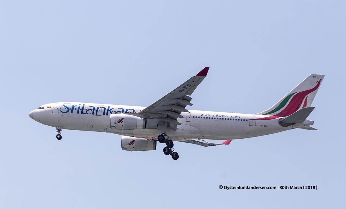 jakarta cgk SriLankan Airbus 330-200 4R-ALC