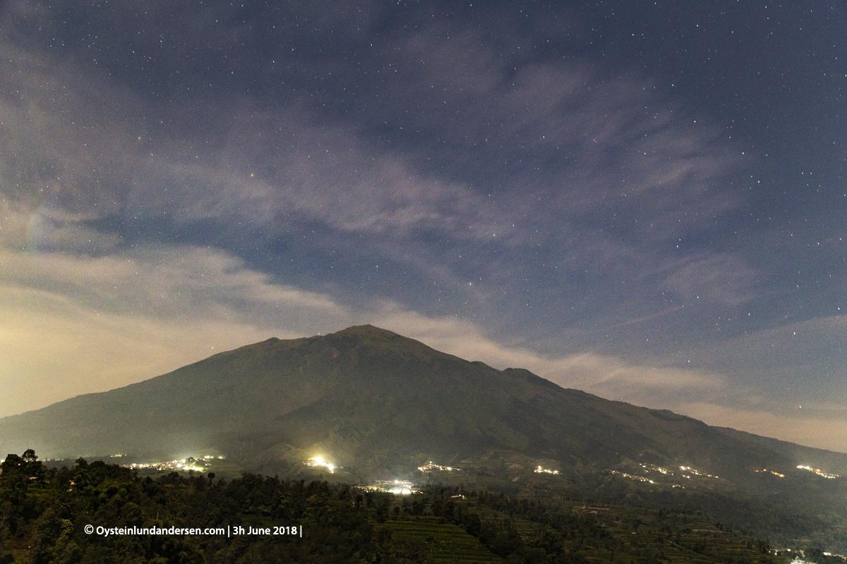 Merbabu volcano June 2018 Indonesia Yogyakarta
