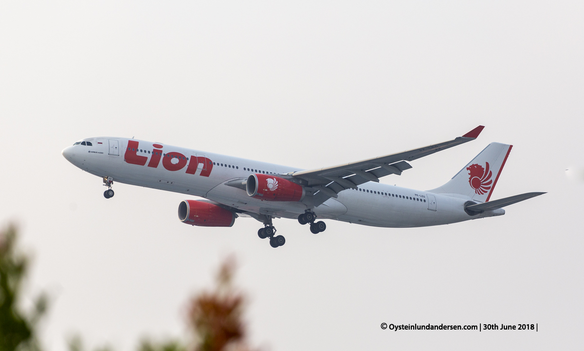 Lion Air Airbus-330-300 (PK-LEG)