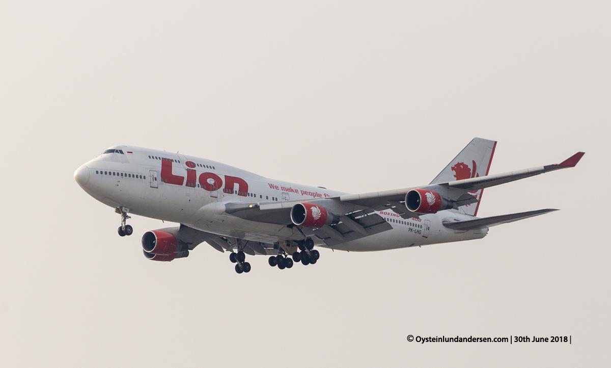 Lion Air Boeing 747-400 Jumbo Jet (PK-LHG)