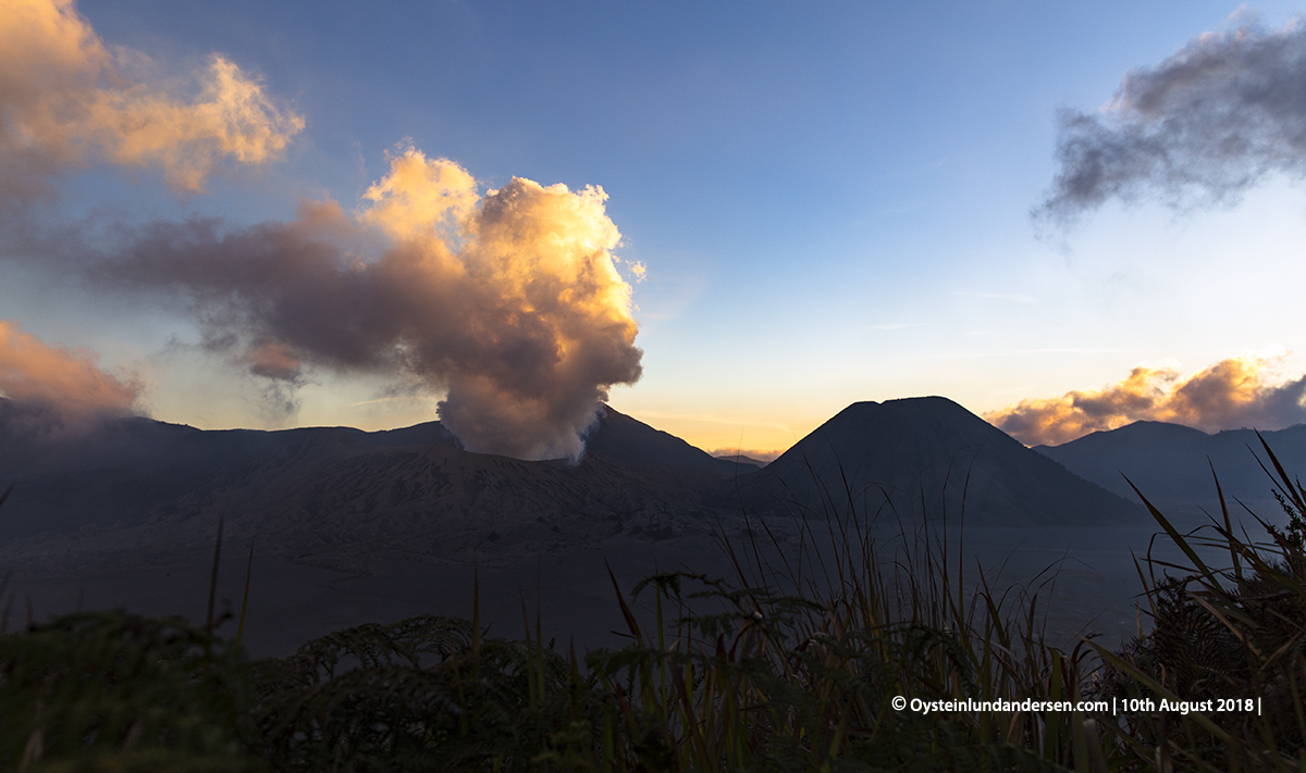 Bromo August 2018 volcano tengger east-java photography