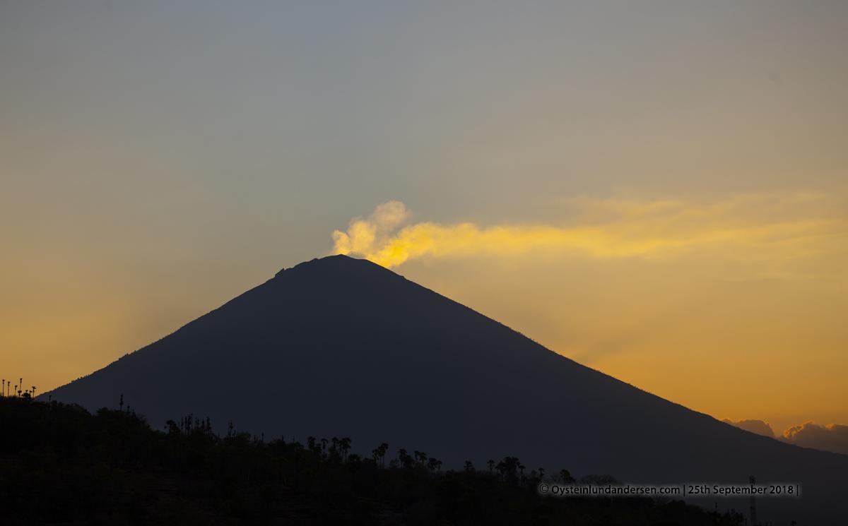 Agung Volcano Bali September 2018