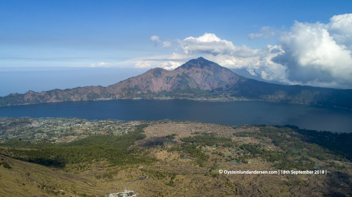Batur Volcano Indonesia Bali crater lava 2018 Abang LAke-Batur
